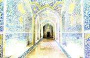 Lotfollah mosque inner entrance